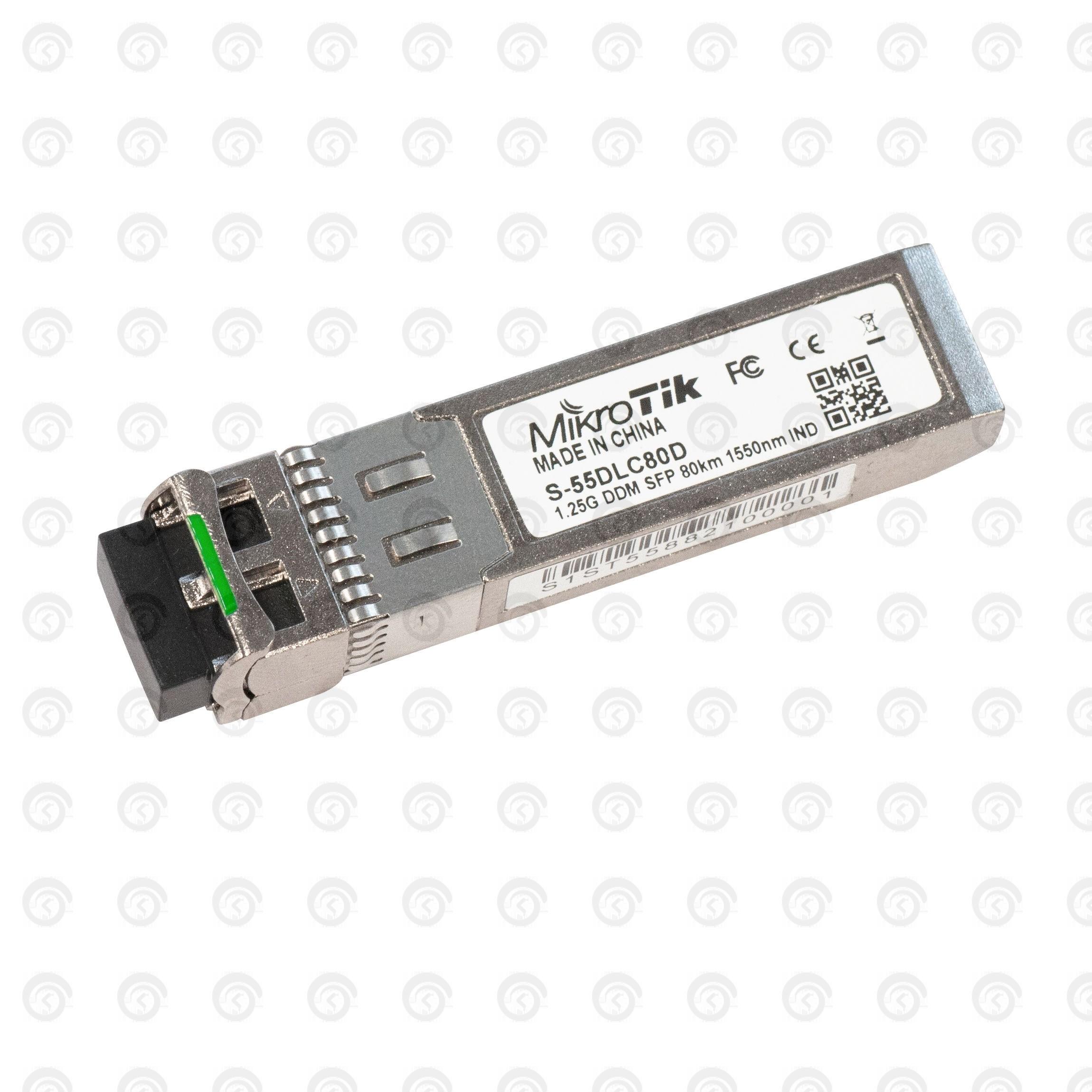 Модуль SFP WDM S-55DLC80D MikroTik 1550