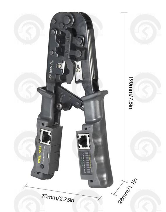 Инструмент Кримпер многофункциональный TU-N5684CR
