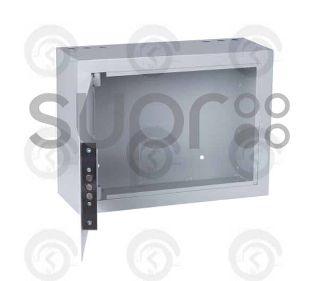 Шкаф настенный антивандальный распашной SUPRLAN АР-400-С