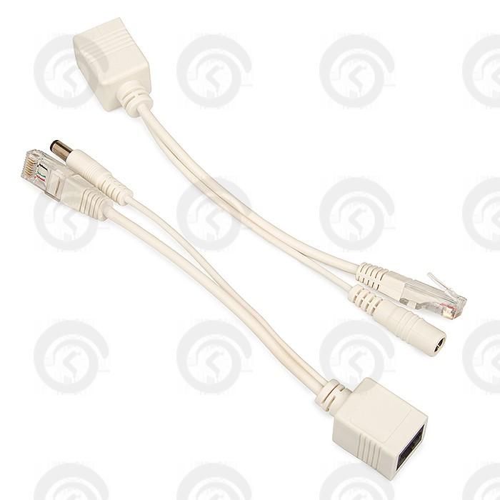 Ubiquiti PoE Set адаптер пассивный соединитель (белый)