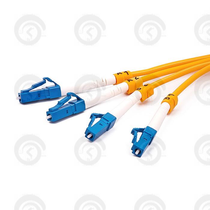 LC/UPC-LC/UPС Патчкорд прямой (3 м)  duplex