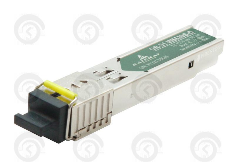 Модуль SFP-WDM - 1.25G 15501310/1310nm, 20 KM, SC
