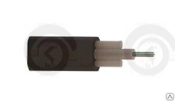 ВОК 02 волокна FTTH кабель 657А1 усиленный 2мя стеклопрутками внешний