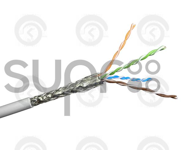 Кабель SUPRLAN Premium SFTP Cat.5e 4x2x0,51 Сu LSZH нг(А)-HF Indoor 305м