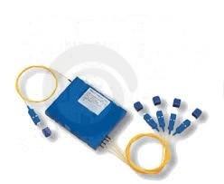 делитель оптический PLC 1х4 2м,  SC/APC