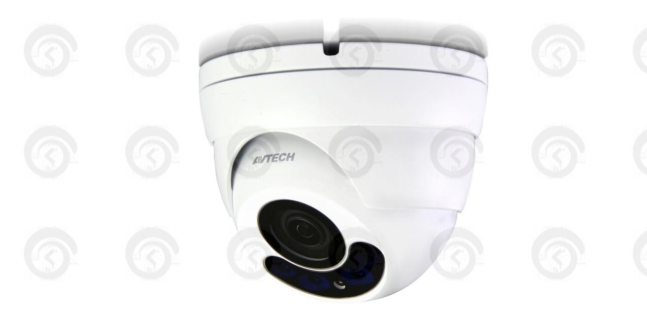 Купольная цветная антивандальная видеокамера 2 Мп (HD) AVTech DG-1304