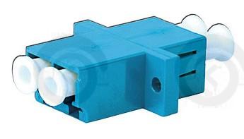 Адаптер оптический розетка LC/UPC - LC/UPC SM duplex