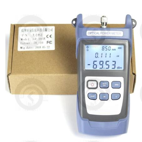"""Инструмент """"Измеритель оптической мощности-70 до + 10dBm"""""""