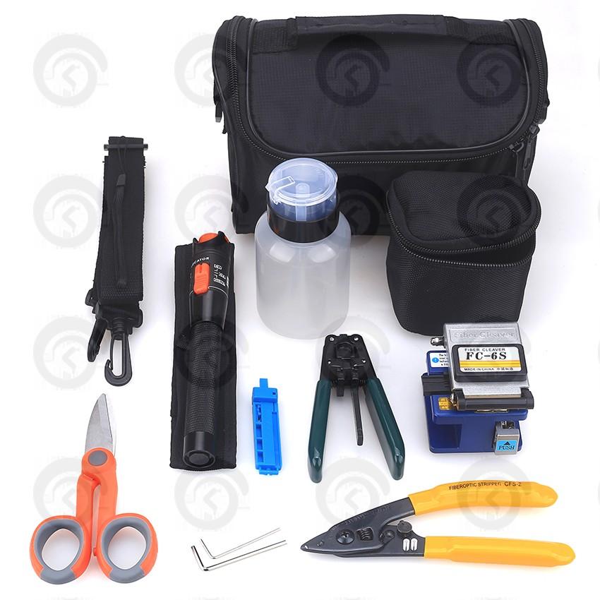 Набор инструментов для монтажа оптического кабеля К-8