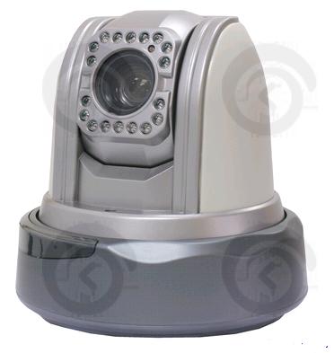 Купольная цветная видеокамера KDM-6808AL Wi-Fi IP 2-5 Мп  х10 zoom