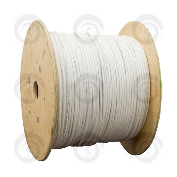 ВОК 01 волокно FTTH кабель 657А1 усиленный 2мя стеклопрутками внутриобъектовый плоский