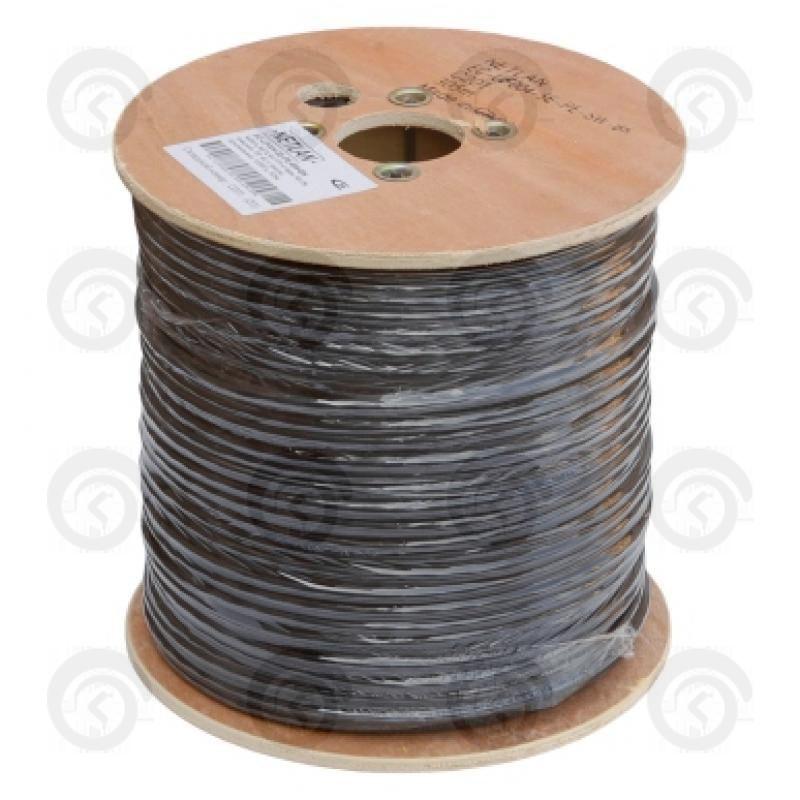 FTP4 кат.5e CU Solid 0,50мм Внешн NETLAN (с тросом)