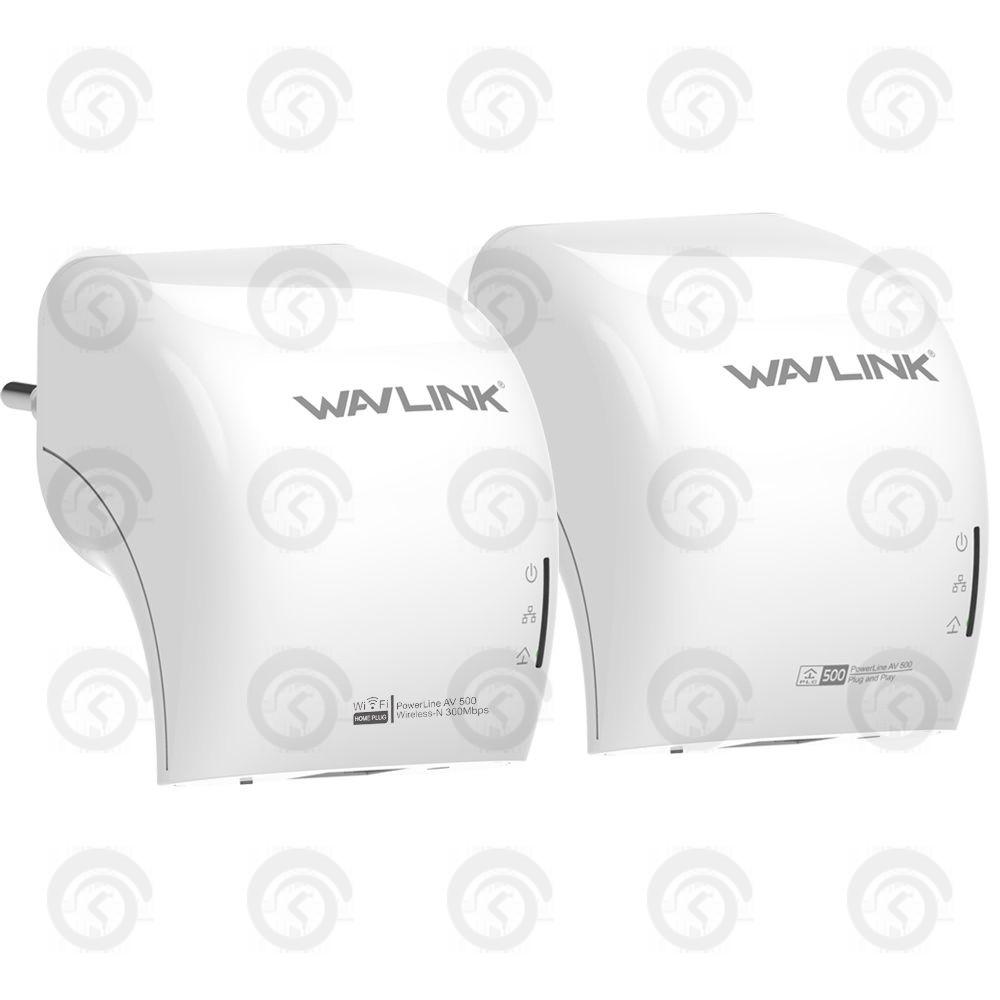 Линейный расширитель интернет сети PowerLine WAVLINK WL-NWP501 M2