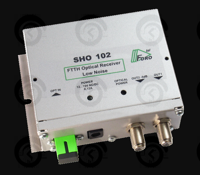 Приемник оптический SHO-102, 86 дБ