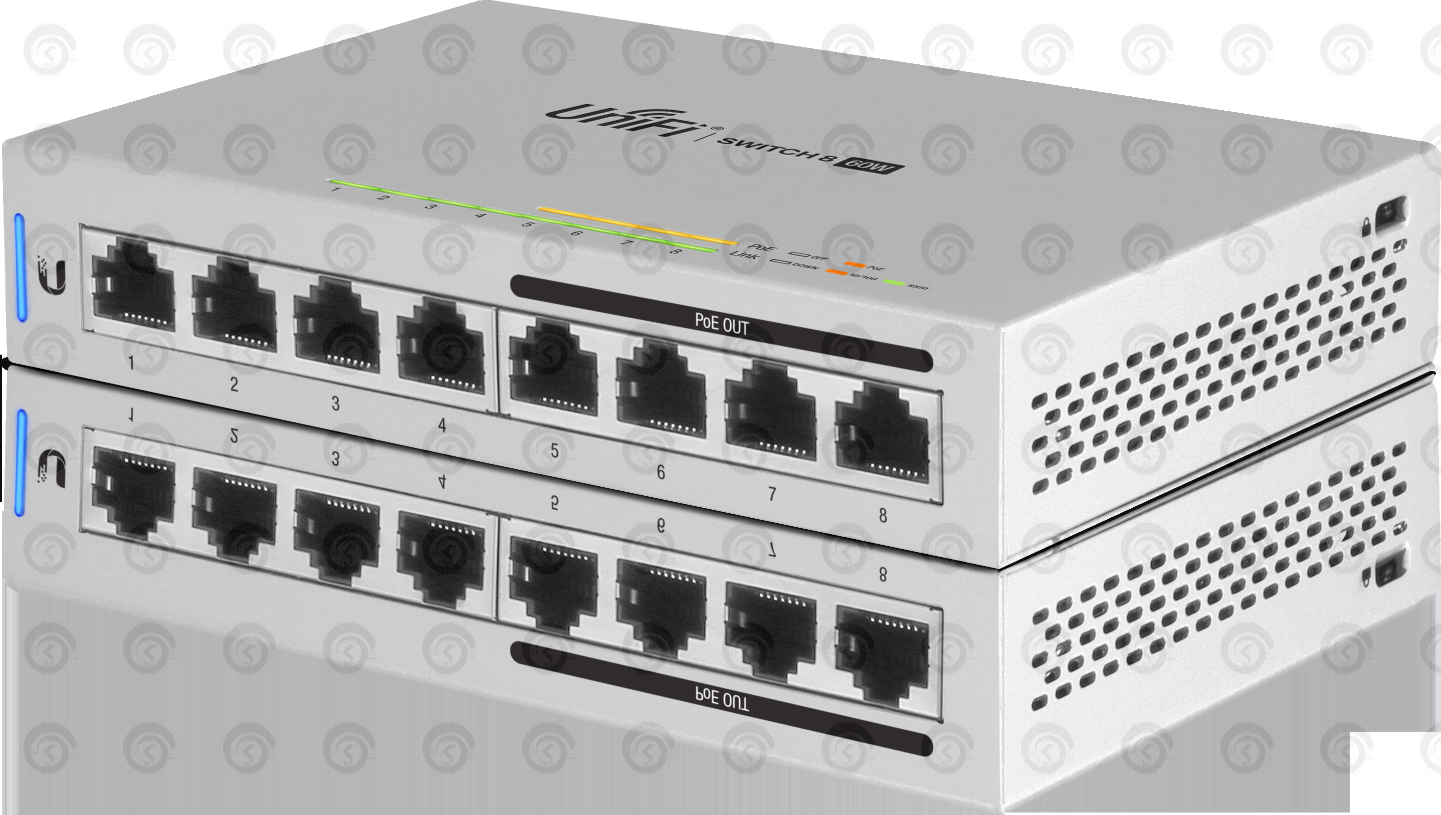 Коммутатор Ubiquiti UniFi Switch 8 портов 60Вт