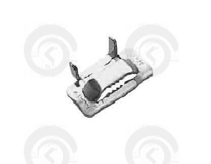Замок (скоба) для монтажной ленты НС-20Т с зубьями