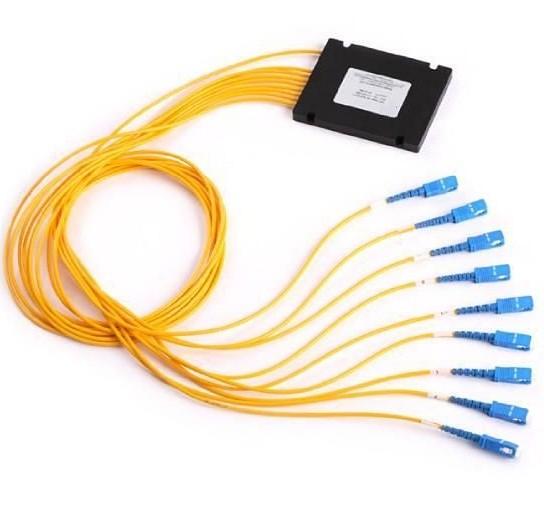 делитель оптический PLC 1х8 2м, SC\APC