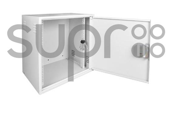 Шкаф настенный антивандальный распашной SUPRLAN АР-8U-600-400-C