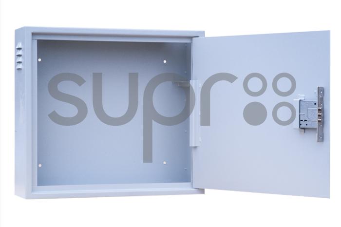 Шкаф настенный антивандальный распашной SUPRLAN АР-2U-550-С