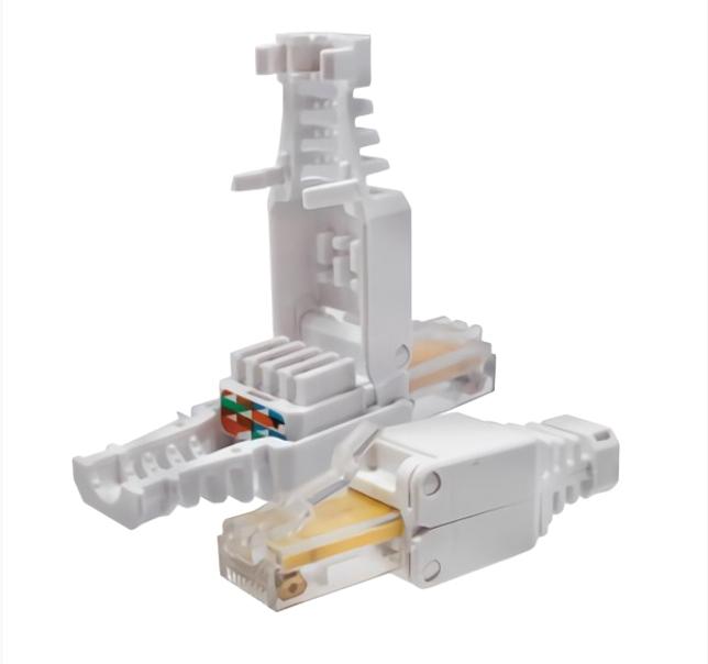 Коннектор 8P8C U/UTP Cat.5e (RJ-45) безынструментальный