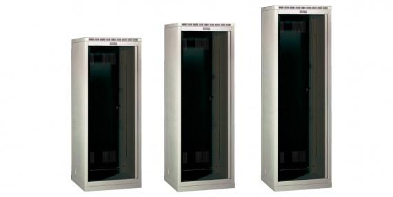 Шкаф напольный универсальный стекло 600x800