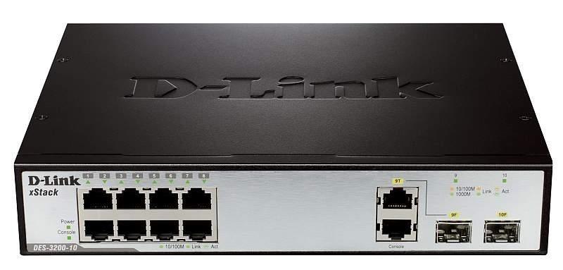 Коммутатор D-link DES-3200-10. 23 (б/у)
