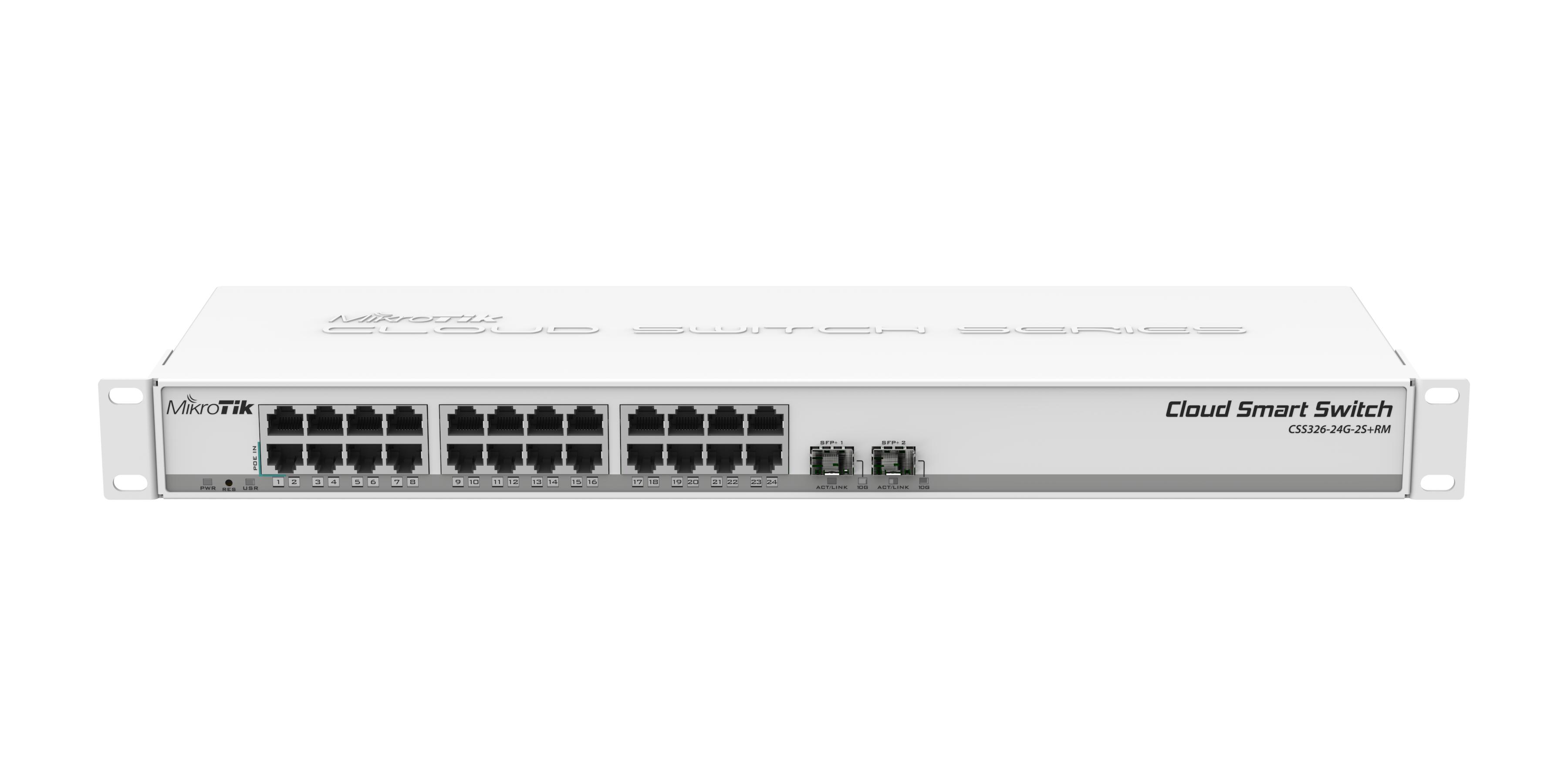Коммутатор MikroTik CSS326-24G-2S+RM
