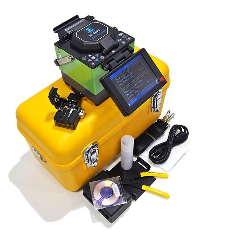 Автоматический сварочный аппарат для оптического волокна Jilong KL-280E + Скалыватель Jilong KL-21C