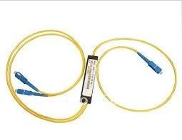 делитель оптический PLC 1х2 2м,  SC/APC