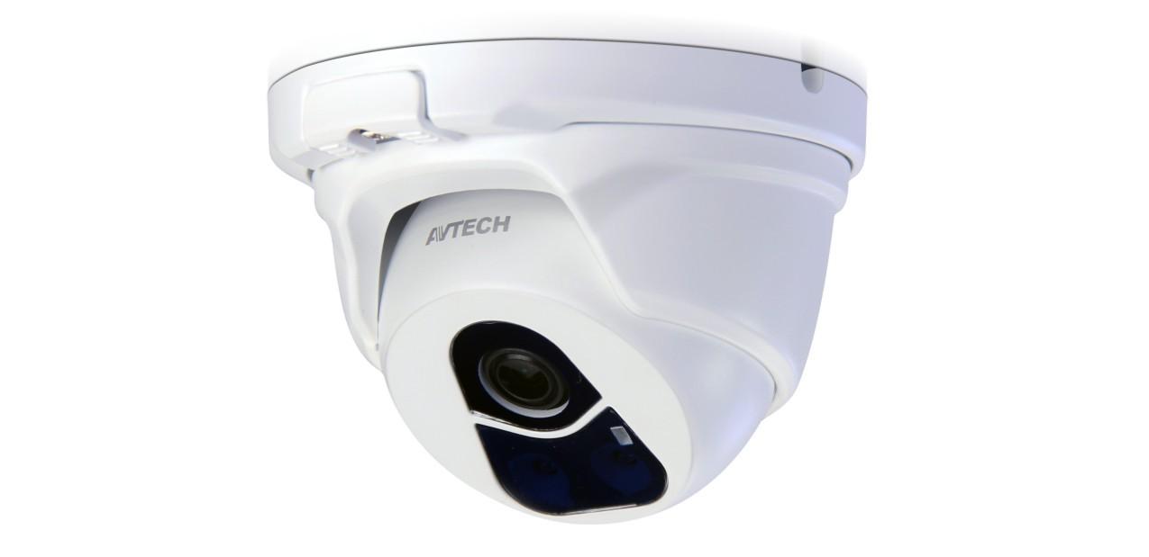 IP Видеокамера Купольная цветная антивандал 2 Мп (HD) AVTech DGM-1104
