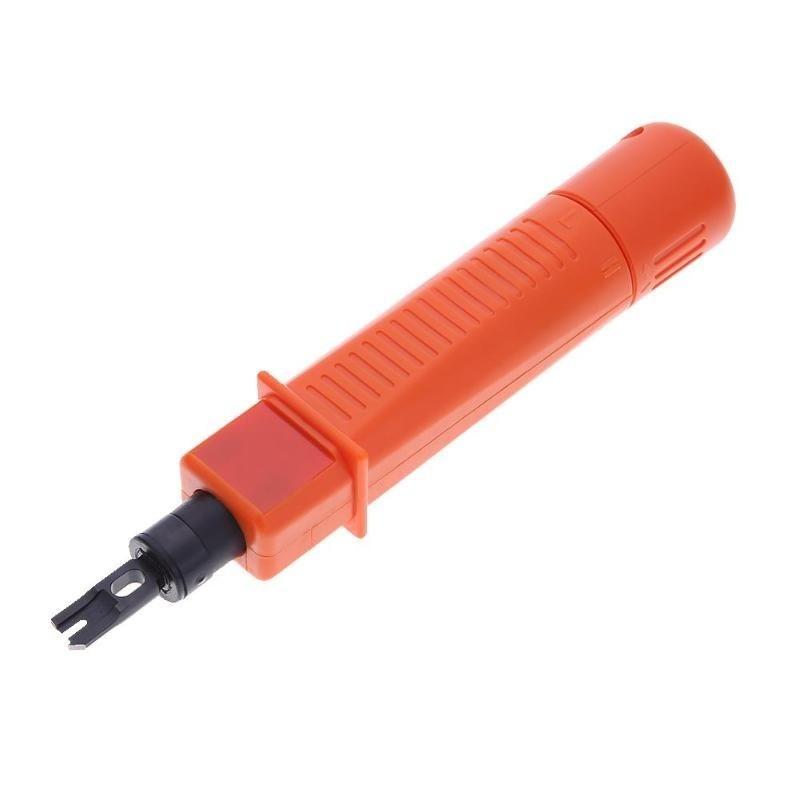 Инструмент для заделки патч-панелей, со сменным ножом типа 110