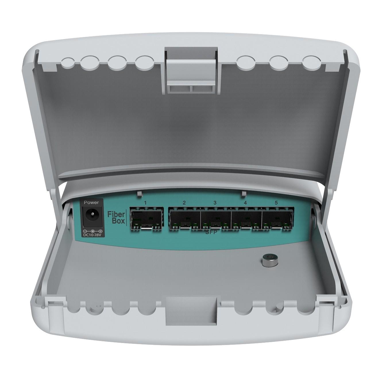 Коммутатор MikroTik FiberBox управляемый