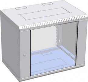 """Шкаф настенный разборный 19"""", 9U Ш600хГ350 метал."""