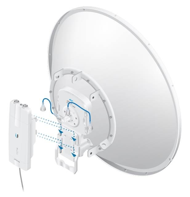 Ubiquiti airFiber 11G-35 антенна параболическая пассивная для FX станций