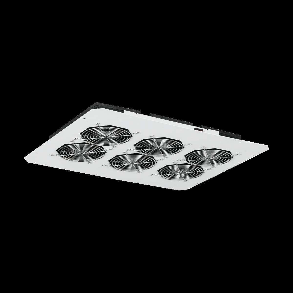 Вентиляторный блок TLK для напольных шкафов серий TFR, TFL, 6 вентиляторов, нижние решетки пластиковые с фильтром, без шнура питания